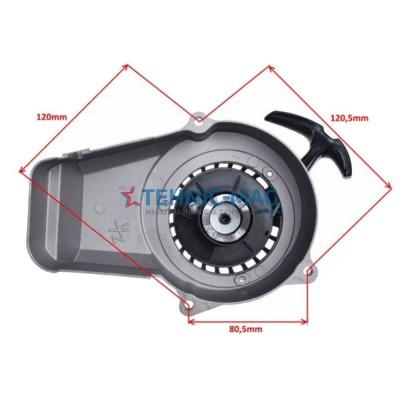 Demaror  aluminiu miniscuter 2T Pocket Bike 50 cc