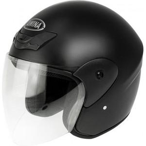 Casca moto Open Face Awina TN-8661, negru L