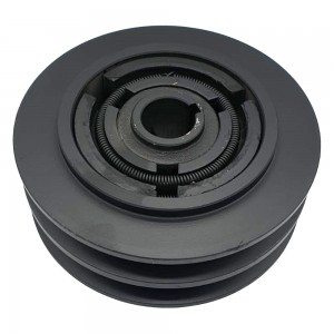 Ambreiaj centrifugal motoutilaje cu ax 25.4mm, fulie dubla 148mm