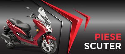 Piese si accesorii pentru moto scutere
